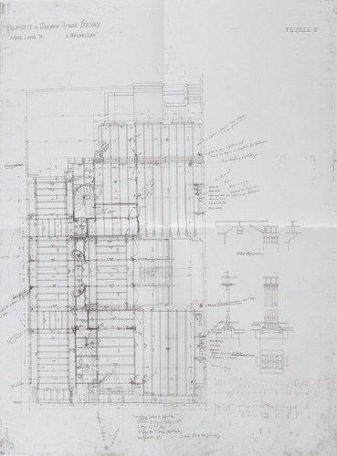 51: Victor Horta (Belgian, 1861-1947) The Solvay House,