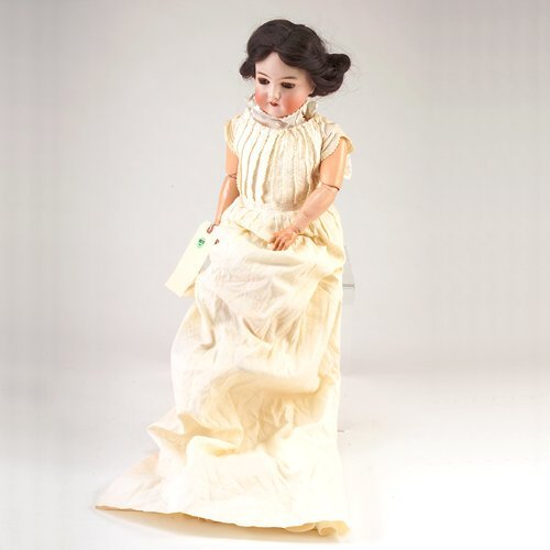 12: AM Queen Louise doll, marked GERMANY 7, no. 288, wi