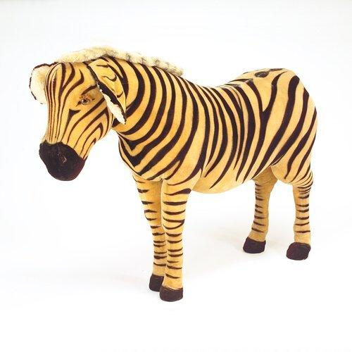 """133: Steiff Studio Zebra, 51 1/2"""" x 85"""" x 24"""" Provenanc"""