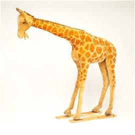 """134: Steiff Studio Giraffe, 72"""" x 87"""" x 20"""" Provenance:"""