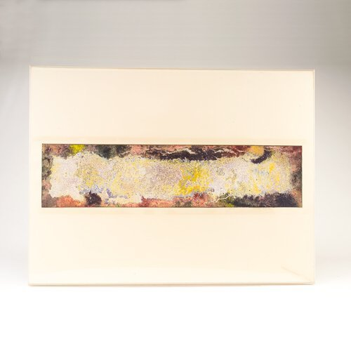 350: Natvar Bhavsar (American, b. 1934) Untitled, dry p