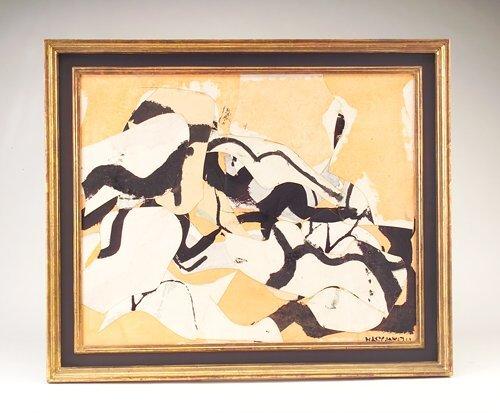 """356: Conrad Marca-Relli (American, 1913-2000), """"5-3-58"""""""