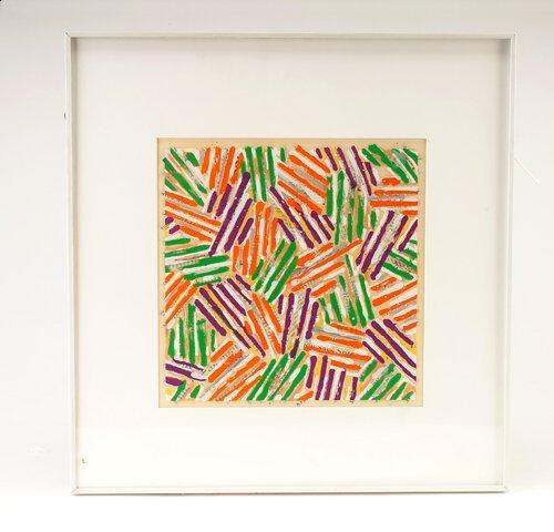 375: Jasper Johns (American, b. 1937), Untitled, color