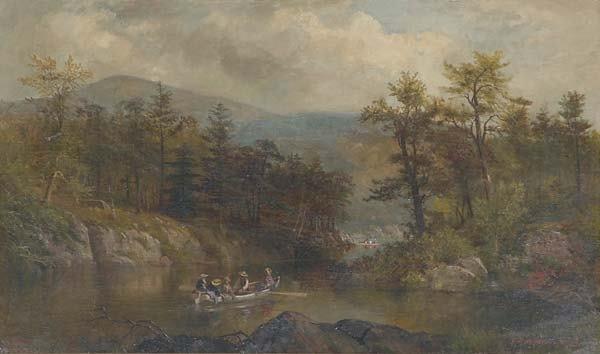 1: James Brade Sword (American, 1839-1915) The Narrows