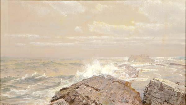 3: William Trost Richards (American, 1833-1905) Untitle