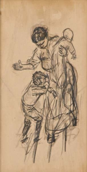 10: William Glackens (American, 1870-1938) Mother and C