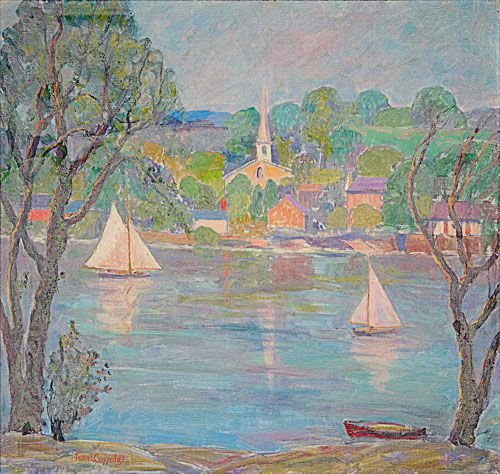 12: Fern Isabel Coppedge (American, 1883-1951) The Gard