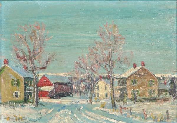 13: Walter Emerson Baum (American, 1884-1956) Untitled;