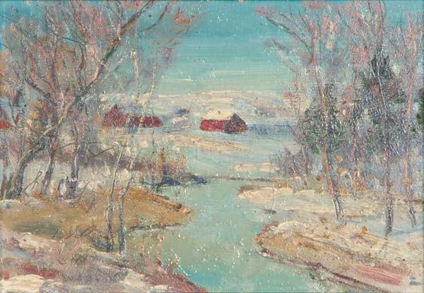 14: Walter Emerson Baum (American, 1884-1956) Untitled;