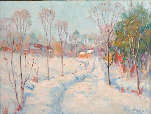 15: Walter Emerson Baum (American, 1884-1956) Untitled