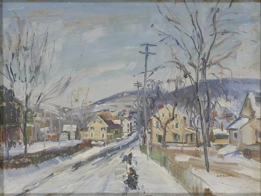 21: Walter Emerson Baum (American, 1884-1956) Untitled;