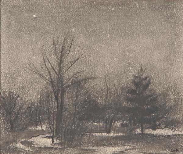 22: Harry Leith-Ross (American, 1886-1973) Winter Night