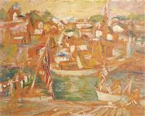 39: Theresa Bernstein (American, 1890-2002) Untitled; O