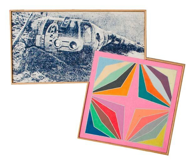 504:  Richard Pettibone (American, b. 1938) Train Wreck