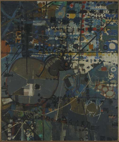 506:  Sonja Sekula (Swiss/American, 1918-1963) Untitled