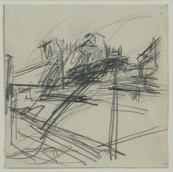 518:  Frank Auerbach (German/British, b. 1931) Study fo