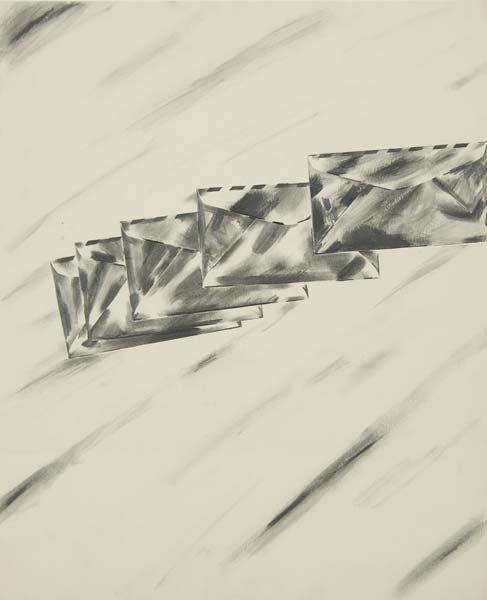 522:  Robert Moskowitz (American, b. 1935) Untitled; Pe