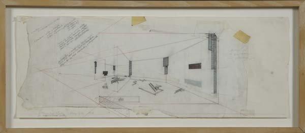 524:  Barry Le Va (American, b. 1941) Installation Stud