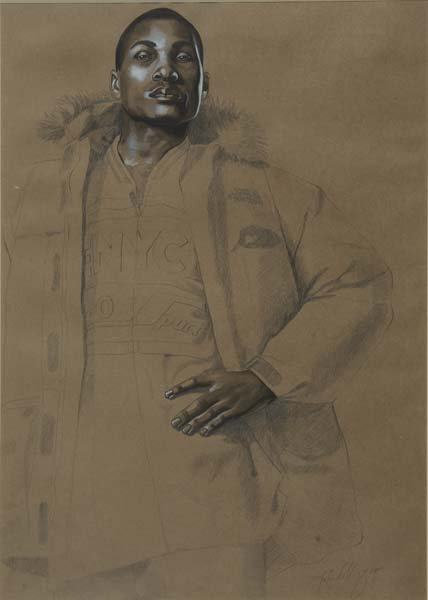631:  Kehinde Wiley (American, b. 1977) Joseph of Egypt
