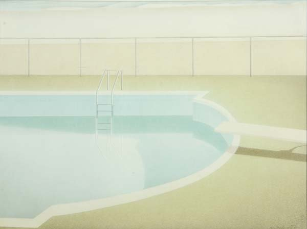 667:  Kevin MacDonald (American, 1947-2006) The Pool, 1