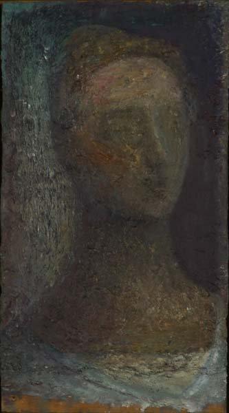 773:  John Lees (American, b. 1943) Portrait of Ruth, 1