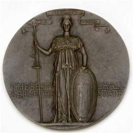 1206:  Augustus Saint-Gaudens (Irish/American, 1848-190
