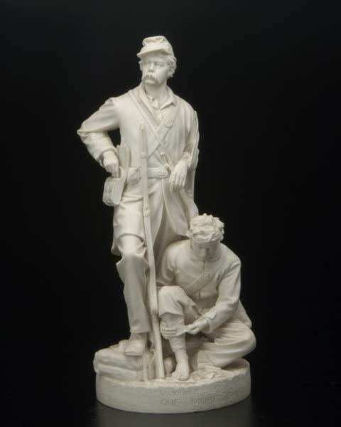 1210:  John Rogers (American, 1829-1904) Wounded to the