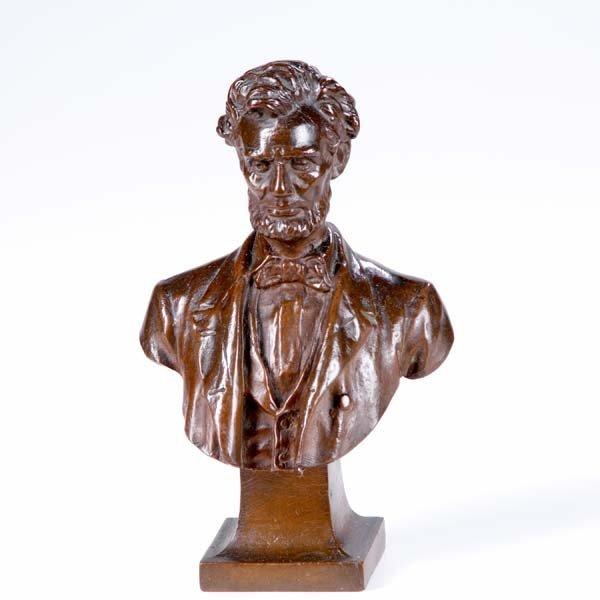1212:  George Edwin Bissel (American, 1839-1920) Lincol