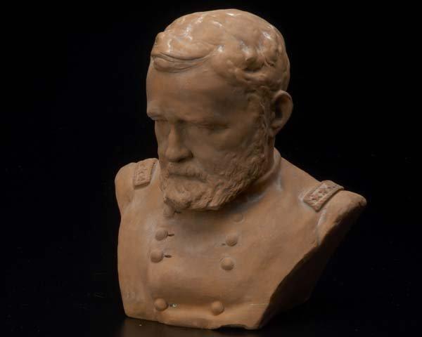 1214:  Karl Gerhardt (American 1853-1940) General Grant