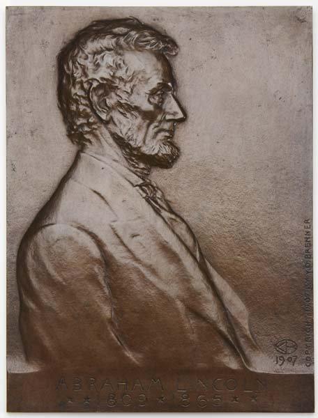 1215:  Victor David Brenner (American, 1871-1924) Abrah