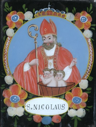 6: Icon (Greek/Eastern European/Folk): St. Nicolas in F