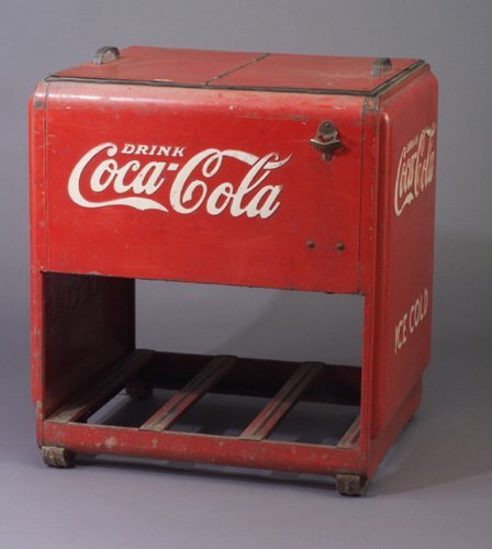 1950's Westinghouse Coca-Cola Cooler   For the Coke Lover ...  Old Coca Cola Coolers