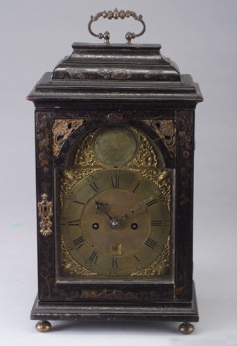 908: GEORGE II bracket clock, London, c. 1740