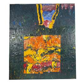 207: Robert Richenburg, Untitled, 1960, acrylic on canv
