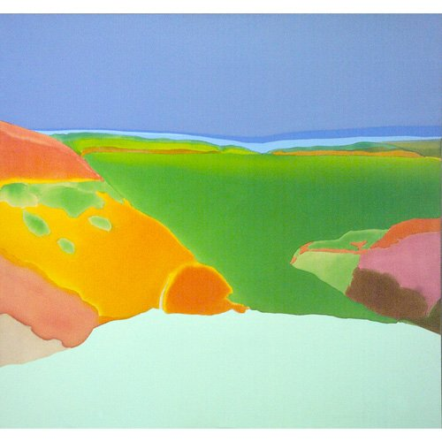 248: Elizabeth Osborne , Cirrha, 1972, acrylic on canv