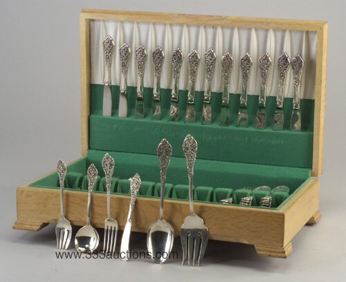 4: Reed & Barton Sterling Silver flatware set