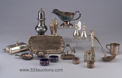 11: Group of Victorian and later sterling sil