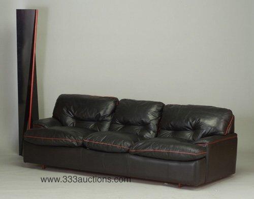 "502: Roche Bobois sofa-bed and 69"" floor-stan"
