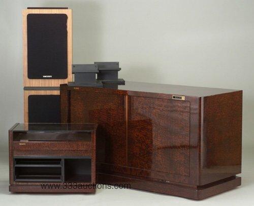 508: Sony custom-design entertainment center