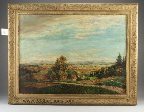528: Oil on canvas, signed C. Rungius (Carl R