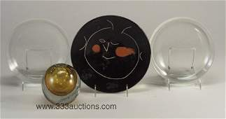 898 Group of four decorative items including