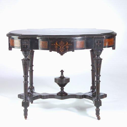 471: American Eastlake-style center table