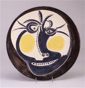66: Edition Picasso for Madoura ceramic platt