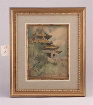 "Chen che Fu, 19th c., ""Chinese Pavillion,"