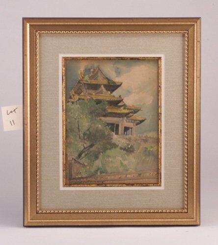 "11: Chen che Fu, 19th c., ""Chinese Pavillion,"