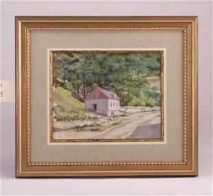 "Susan Codman ""House Along a Country Road"