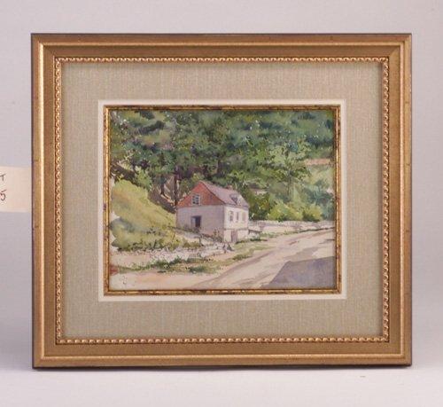 "15: Susan Codman ""House Along a Country Road"