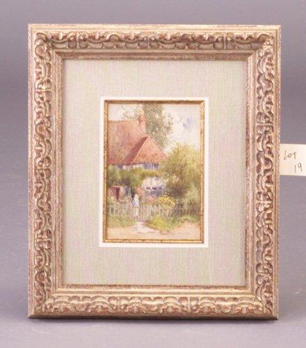 19: H. Louise Walford (British, 19th c.) Engl