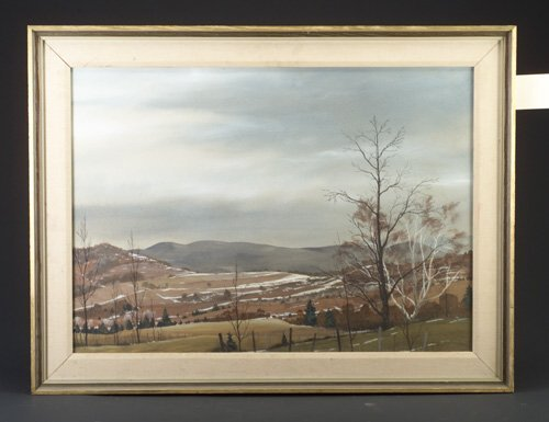 "1: Stuart Eldridge (American, 20th c.), ""Verm"