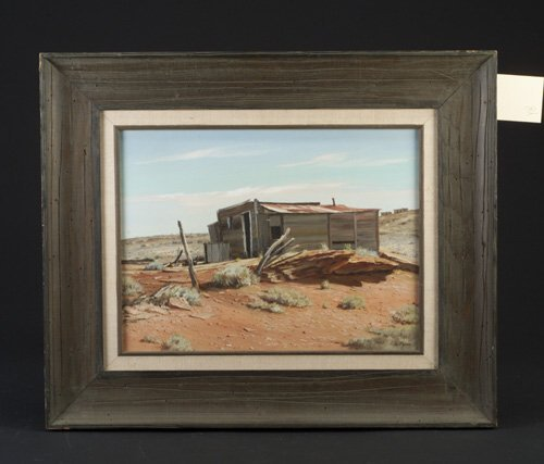 "3: Gordon Pond (American, 20th c.) ""Red Rock"